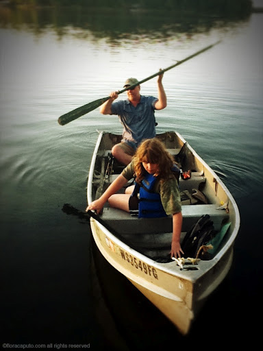 Magic hour fishing excursion